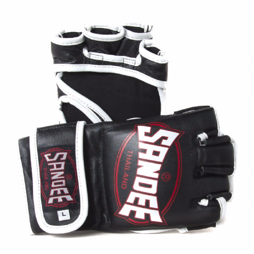 Sandee MMA Fight Gloves Black/Red